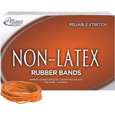 ALL 37336 Alliance Orange Non-Latex Rubber Bands ALL37336