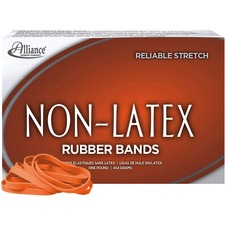 ALL37646 - Alliance Rubber 37646 Non-Latex Rubber Bands - Size #64
