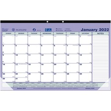 RED C181700 Rediform Contemporary Design Monthly Desk Pad REDC181700