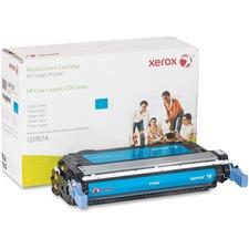 Xerox Remanufactured Toner Cartridge - Alternative for HP 643A (Q5950A) - Cyan