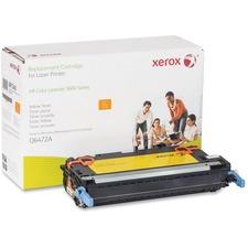 Xerox Remanufactured Toner Cartridge - Alternative for HP 502A (Q6472A)