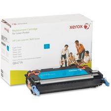 Xerox Remanufactured Toner Cartridge - Alternative for HP 502A (Q6471A) - Cyan