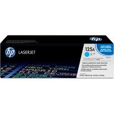 HP 125A (CB541A) Original Toner Cartridge - Single Pack - Laser - 1400 Pages - Cyan - 1 Each