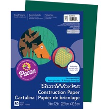 PAC 7803 Pacon SunWorks Groundwood Construction Paper PAC7803