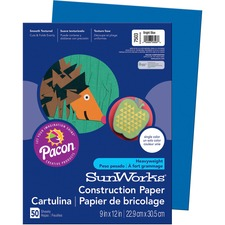 PAC 7503 Pacon SunWorks Heavyweight Construction Paper PAC7503