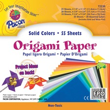 PAC 72230 Pacon Lightweight Origami Paper PAC72230