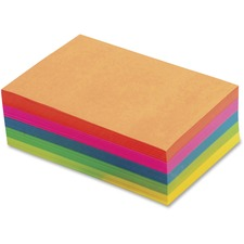 TOP 99622 Tops Fluorescent Memo Sheets TOP99622
