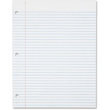 TOP 62349 Tops 16-lb. College-ruled 3H Punched Filler Paper TOP62349