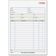 TOP 46510 Tops 3-part/15-item Sales Order Book TOP46510
