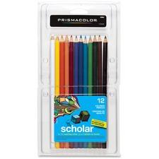 SAN 92804 Sanford Prismacolor Scholar Colored Pencils SAN92804