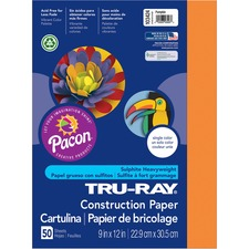 PAC 103424 Pacon Tru-Ray Heavyweight Construction Paper PAC103424