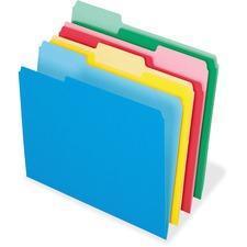 PFX 82300 Pendaflex Two-tone Color-coding File Folders PFX82300