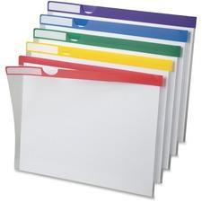 PFX 50981 Pendaflex Clear Poly Index Folders PFX50981
