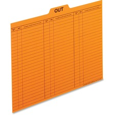 PFX 2051 Pendaflex Preprinted Grid Letter-size Out Guides PFX2051
