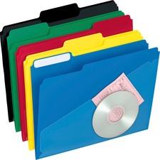 PFX 00515 Pendaflex Hot Pocket Poly File Folders PFX00515