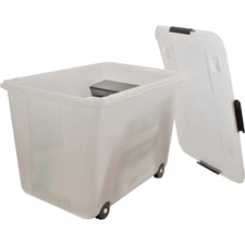 AVT34009 - Advantus 15-gallon Rolling Storage Tub