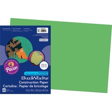 PAC 9607 Pacon SunWorks All-purpose Construction Paper PAC9607