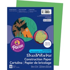 PAC 9603 Pacon SunWorks Heavyweight Construction Paper PAC9603
