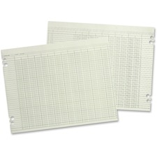 WLJ G108 Acco/Wilson Jones 8-column Numbered Ledger Paper WLJG108