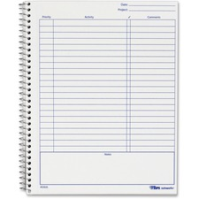 TOP 63826 Tops Noteworks Project Planner TOP63826