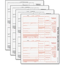 TOP 22973 Tops IRS Approved 5-part 1099-DIV Tax Forms TOP22973