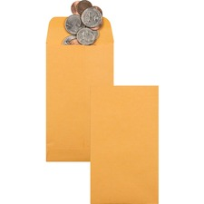 QUA 50562 Quality Park Kraft Coin Envelopes QUA50562