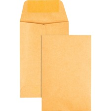 QUA 50162 Quality Park Kraft Coin Envelopes QUA50162