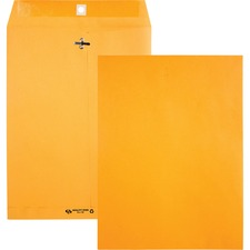 QUA 38190 Quality Park 28 lb Kraft Clasp Envelopes QUA38190
