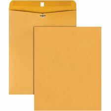 QUA 37805 Quality Park Deeply Gummed Kraft Clasp Envelopes QUA37805