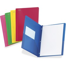 OXF 99811 Oxford Translucent Poly Twin Pocket Folders OXF99811