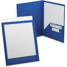 OXF 57470 Oxford ViewFolio Plus Twin Pocket Folders OXF57470