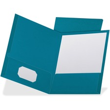 OXF 53442 Oxford Linen Cover Twin-pocket Folders OXF53442