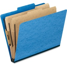 PFX 1257LB Pendaflex 6-Fastener Classification Folders PFX1257LB