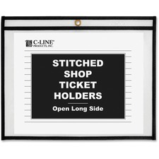 CLI 49911 C-Line Side Load Stitched Shop Ticket Holders CLI49911