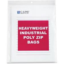 CLI47911 - C-Line Heavyweight Industrial Zip Bag