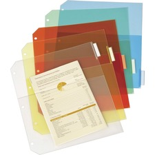 CRD 84009 Cardinal Poly Ring Binder Pockets  CRD84009