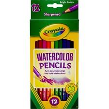 CYO 684302 Crayola Watercolor Pencil Set CYO684302