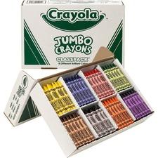 CYO 528389 Crayola Jumbo Crayon Classpack CYO528389