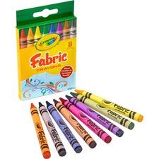 CYO 525009 Crayola 8-ct Fabric Crayon CYO525009