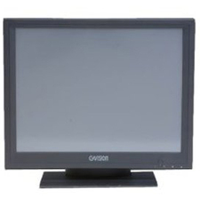 GVision P15BX-AB 15inLCD Touchscreen Monitor - 4:3 - 16 ms - 15inClass - 5-wire Resistiv