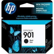 HP 901 Original Ink Cartridge - Single Pack - Inkjet - 200 Pages - Black - 1 Each