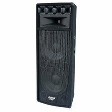 Pyle PylePro PADH212 800 W RMS - 1600 W PMPO Indoor/Outdoor Speaker - 7-way - 1 Pack - Black