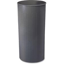 SAF 9610CH Safco 20-gallon Steel Round Wastebasket SAF9610CH