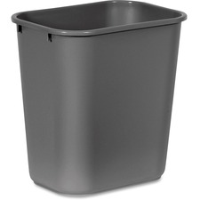 RCP 295600GY Rubbermaid Comm. Deskside Wastebasket RCP295600GY