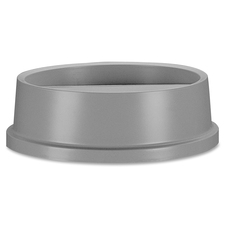 RCP 267200GY Rubbermaid Comm. Untouchable Round Swing Top Lid RCP267200GY