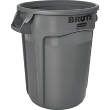 RCP 263200GY Rubbermaid Comm. Brute Round Container RCP263200GY