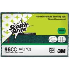 MMM 96CC 3M Scotch-Brite General Purpose Scouring Pads MMM96CC