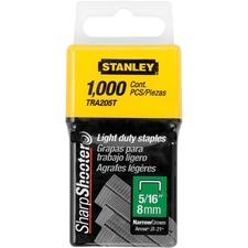 "Stanley TRA205T Light-Duty Staples - 5/16"" - Light Duty1 / Box"