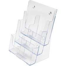 DEF 77401 Deflecto 6-Leaflet Tiered Desktop Lit. Holder DEF77401
