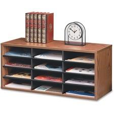 FEL 25400 Fellowes 12-Compartment Literature Organizer FEL25400